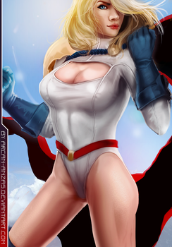 Power Girl by Arcan-Anzas