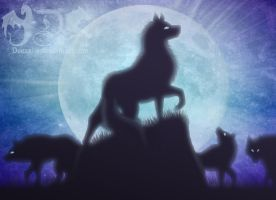 Pack of the Moon by Deexalis