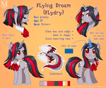 Flying Dream Reference 2017 by Margony