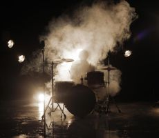 Ghost drummer by OllieCipres