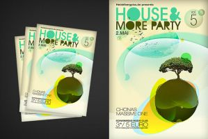 house flyer by punkt11
