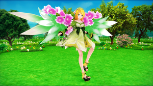 TDA Flower Fairy Rin {DL} by HarukaSakurai