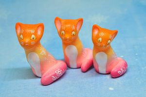 Gradient Cats by Ailinn-Lein