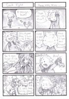 FF: 4 Heroes of Light 4koma 01 by The-Z