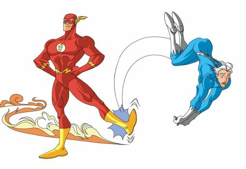 Flash vs Quick Silver? by Bluevelvet07