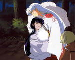 Kikyo and Sesshomaru by Theultimateclub