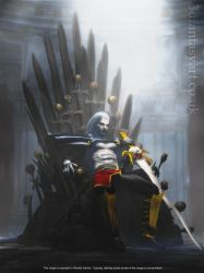 Hail to the King, Baby! by 3D-Fantasy-Art