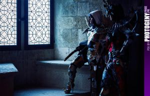 Diablo III...Demon Hunter and Wizard Destiny... by SakuraFlamme