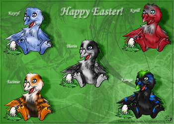 Happy Easter 08 by ThorinFrostclaw