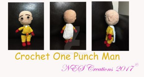 Crochet One Punch Man by Zero23