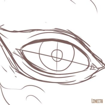 Eye - sequence gif by Lineith