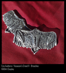 Ezio Auditore Cosplay / Brooches by KADArt-Cosplay