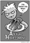 Asexual Harassment by resa-challender