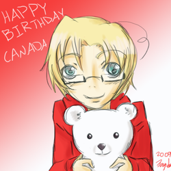 Hetalia - Canada Day by anime-manga-fan