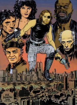 Escape from NY by Nick Derington color by chaz by ChazWest