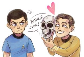 Bones by Kessavel-art