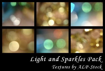 Light and Sparkles Pack by ALP-Stock