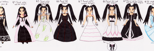 Princess In Dresses by MonarchyBunny