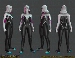 Spider-Woman (Gwen Stacy) by MrUncleBingo