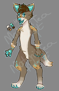 OPEN Anthro Canine Adopt by MatchiiTea