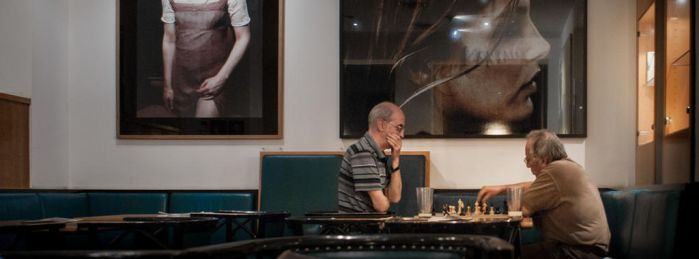 Movie Series - Chess Players by gas01ine