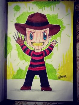 [MONSTOBER 2K17] #1 - Freddy Krueger by Creytor