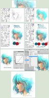 SAI Brush Setting+how they're used + Walkthrough by Qinni
