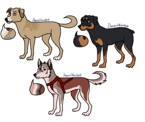 dogs ( open ) by doggolifeadopts