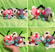 Butterfree Palm Plush by Glacideas