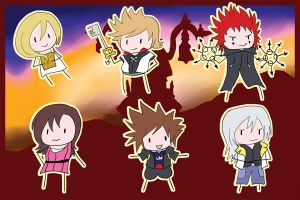 o Kingdom Hearts Chibis o by khiro