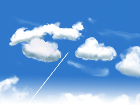 Clouds by ElaineFromShalott