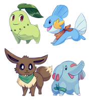 PMD teams by Flavia-Elric