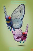 pokemon project 012 Butterfree AshSpecial byLo0bo0