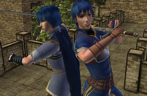 Chris and Marth Sims by Prince-Stephen