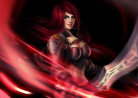 Katarina update by Magnusmight