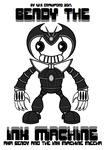 Bendy The Ink Machine AKA B.A.T.I.M Mecha by frgrgrsfgsgsfgggsfsf