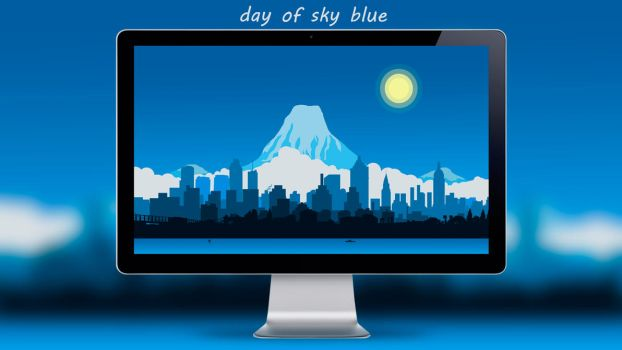 Day Of Sky Blue By Designuchiha by designuchiha