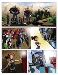 Transformers Prime: Titan Magazines Tryout Colours by palmaay