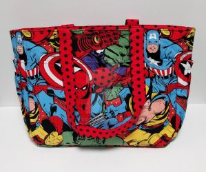 Marvel Tote Bag by xkiddo