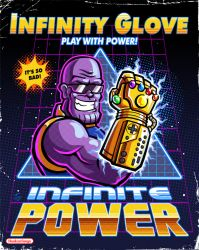 Thanos Infinity Glove by hooksnfangs