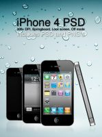 iPhone 4 PSD by WilDchilDD