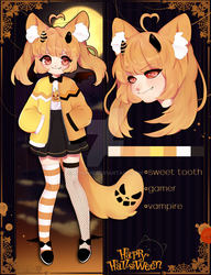 Halloween adopt collab [OPEN] by Blinchii
