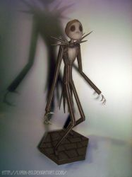Jack Skellington - Papercraft by Lyrin-83