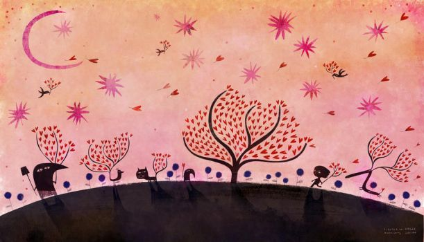 To plant an orchard by nicolas-gouny-art