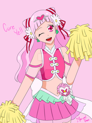 Cure Yell (Hugtto! Precure) by LuckyAngelsLove