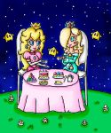 star tea party by ninpeachlover