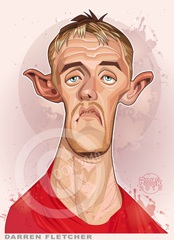 Darren Fletcher by RussCook