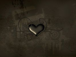 WALL - Chocolate Heart by faded-ink