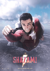 SHAZAM! - SOAR THROUGH THE SKY by iMizuri