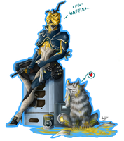 Warframe - Cleaning day by Anavi-Ivy